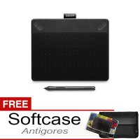 Wacom Intuos Photo CTH490 Pen Tablet Free Softcase dan Proskin Antigores