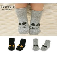 Kaos kaki anak bayi baby kids socks Kacakid Korea import kitty gliter