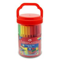 Connector pen bucket toples Faber castell