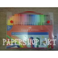 Connector Pen Faber Castell Isi 60 Warna