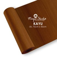 Background Studio Foto Mini Motif Kayu Uk.75 x 43