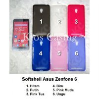 Asus Zenfone 6 - Softshell Case Casing Sarung Cover Silikon
