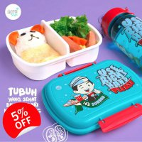 Lunch Box / Kotak Makan / Tempat Makan Anak / Lunch Set Afrakids