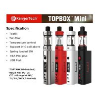 Kangertech Topbox Mini 75watt Starter KIT