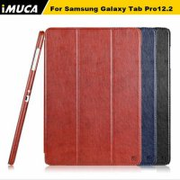 [globalbuy] iMUCA Tablet Note Case Magnetic Flip Cover For Samsung Galaxy Tab Pro 12.2 P90/3775863
