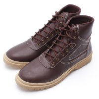 Dr.Kevin Leather Boot Shoes 4022 Brown