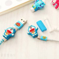 [globalbuy] Cartoon Anime lovely Cable Protector USB Cable Winder For Apple IPhone 4 5 5s /5176693