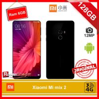 Xiaomi Mi MIX 2 128Gb Ram 6Gb 12Mp Garansi 1thn - Original 100% - Hitam