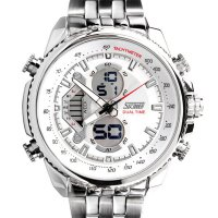 [esiafone happy sale] SKMEI Classic Stainless Series Watch AD0993 - Jam Tangan Pria 0993 Original