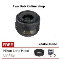 Nikon Lensa AF-S DX 35mm f/1.8G / AFS 35 mm f/1.8 G + Free UV Filter