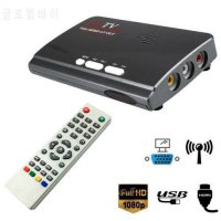 [globalbuy] HDMI HD 1080P VGA DVB T2/DVB-T2 TV Box VGA CVBS Tuner Receiver With Remote Con/5766636