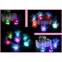 Rumput Bunga LED Lampu Hias Mini 7 Warna Light Lamp Cahaya Aksesoris U SJ0019