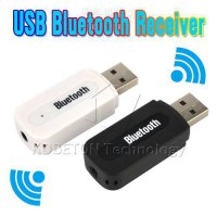 [globalbuy] New USB Bluetooth Music Audio Receiver Adapter 3.5mm Stereo Audio to Speaker S/5766255