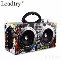 [globalbuy] Portable 20W Bluetooth Speaker Wireless Outdoor Stereo Bass Sound Dancing Loud/5766226