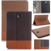 [globalbuy] T350 /T355 Leather Case for Samsung Galaxy Tab A Case 8.0 SM-T350 / SM-T355 / /4932185