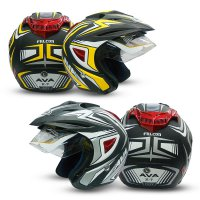 Helm AVA - Korean Technology - New Helmet Premium Edition - K7 Falcon