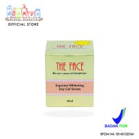 THE FACE Day Gel Serum BPOM THE FACE Supreme Whitening Gel Serum Cream Krim Siang Perawatan Kulit Wajah Best Seller