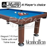 Murrey Pool Table - 7 ft Manhattan - Meja Billiard Biliar Bilyard