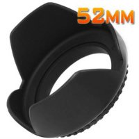 [globalbuy] Wholesale Fotga Screw Mount 52mm Lens Hood Flower Crown Petal Shape For Canon /1967944