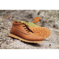 D-Island Shoes Boots Sole Rubber Comfort - Soft Brown