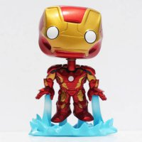 [globalbuy] The Avengers figures toy Age of Ultron toys doll 12CM POP Iron man mark Captai/1722924