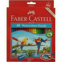 Pensil warna water colour Faber castell 48