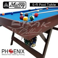 Murrey Pool Table - 6 ft Phoenix - Meja Billiard Biliar Bilyar