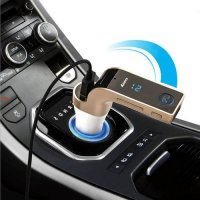 [globalbuy] Wilrless Car Kit MP3 Music Player LCD Display Bluetooth Audio Receiver FM Tran/3260373