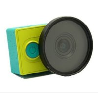 UV Filter Lens 37mm with Cap for Xiaomi Yi - Lensa Pelindung