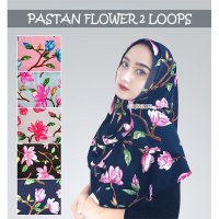 Pashmina Instant Flower 2Loops