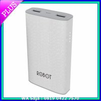 Power Bank Power Bank ROBOT RT7100 6600mAh FULL Dual Output 1A 2A ORI by VIVAN