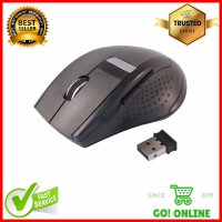Mouse Wireless AUE M013 Optical USB 2.4 Ghz Black