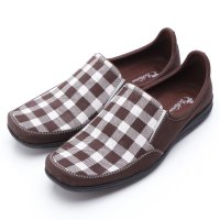Dr.Kevin Canvas Shoes 13210 Brown