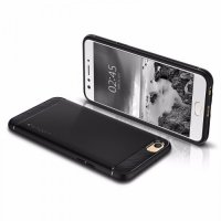 SPIGEN OPPO F3 CASE RUGGED ARMOR BLACK