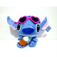 Boneka Stitch Original Disney Lilo & Stitch With Ice Cream