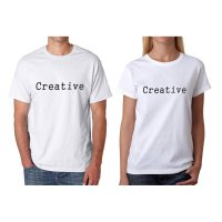 Tumblr Tee / T-Shirt / Kaos Couple Creative Warna Putih