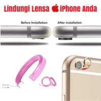 Ring camera iphone 6 /6+ / pelindung kamera / lensa protector