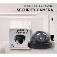 cctv camera (fake/dummy) kamera seperti asli with LED