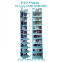 HSOZ Frozen (Hanging Shoes Organizer Zipper) Rak Sepatu Gantung Retsleting