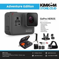 [Paket Adventure] GoPro HERO5 Black Action Camera <> Kamera HERO 5