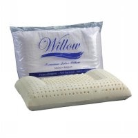 Willow ERGONOMIC U Anti Iler Latex Dewasa 60x40cmx6/10cm Pillow Premium BELGIA - Bantal Kesehatan