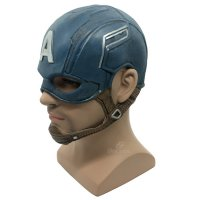 New Topeng captain america avengers full head latex cosplay halloween