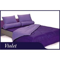 Bed Cover set Grand Shyra Polos 2in1 ukuran 180 x 200 Violet