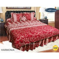 Bed Cover set NEW CALIFORNIA 3D Queen 160 / King 180 HARMONIA