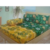 Sprei Lady Rose 180 Motif Green Borneo