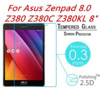 [globalbuy] 0.3mm 2.5D Explosion-Proof Toughened Tempered Glass For Asus Zenpad 8 Z380 Z38/5017451