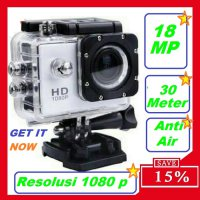 Kogan Kamera Sport HD 1080p - 12 MP - Anti Air (Waterproof)