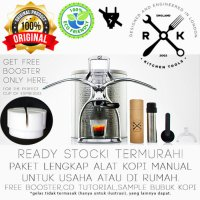 ROK PRESSO ORI MESIN / ALAT KOPI MANUAL PEMBUAT ESPRESS