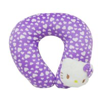 (Interior) CentralSeat Love Kepala Hellokitty Bantal Leher - Ungu