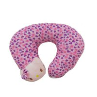 #Interior CentralSeat Love Ungu Fanta Kepala Hello Kitty Bantal Leher - Light Pink